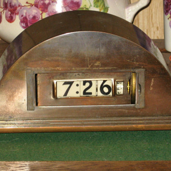 1934 Art Deco Lawson Cyclometer, Model #77 - Art Deco