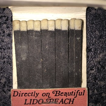 Matchbook - Tobacciana