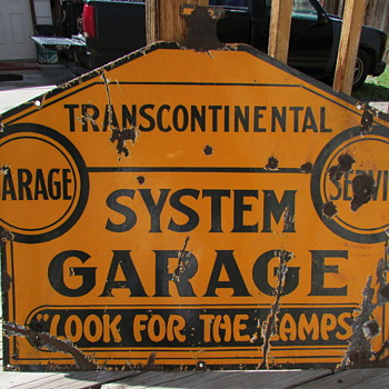 Old Garage Sign - Signs