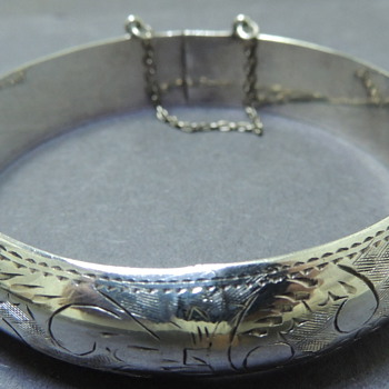 Sterling Bracelet III - MAKER UNKNOWN