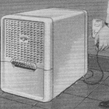 1953 - Frigidaire Dehumidifier Advertisement