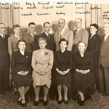 National Sibling Day today . My Grandmother and all her 12 siblings - Photographs