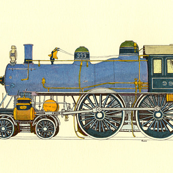 Evelyn Curro Railroad Prints