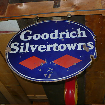 goodrich silvertowns sign - Petroliana