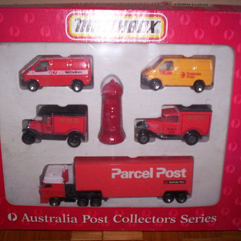 Post Vans - Model Cars