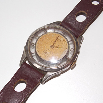 1960s Swiss wristwatch made by Eden