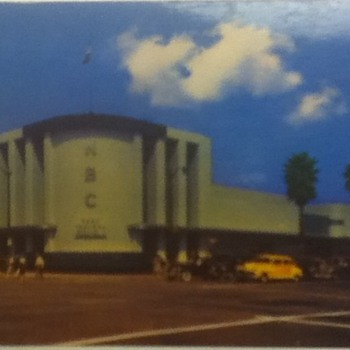 NBC Studios Postcard