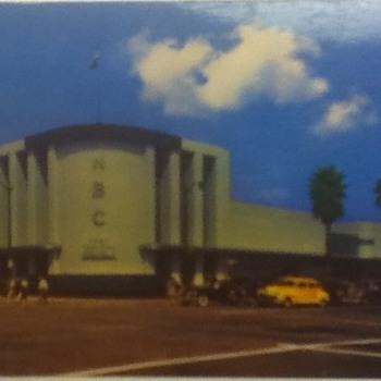 NBC Studios Postcard