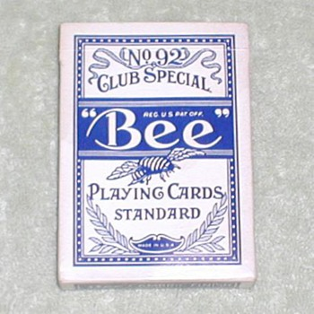Sahara Casino Playing Cards - Bee