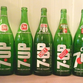 7up 7up & more 7up bottles - Bottles