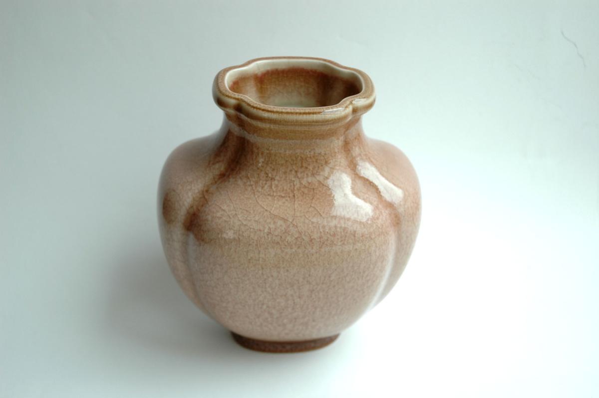 Emile decoeur sevres vase quadrilob shape n 76 for Deco quadrilobe