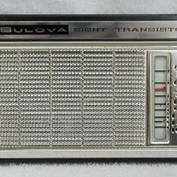 Bulova Eight Transistor Radio - Radios