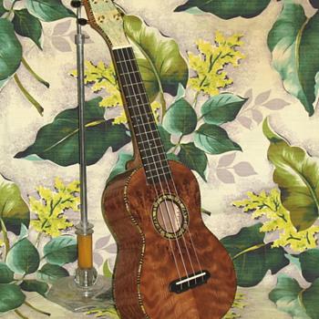 2 uke's - Guitars