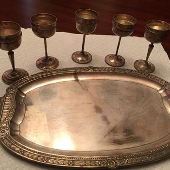 Silver plate serving set?
