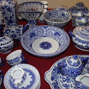 Blue and White Collection - Asian