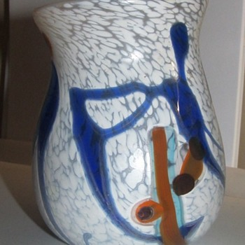 Art glass vase by Davis
