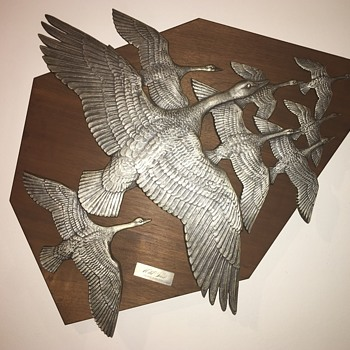Gilroy Roberts ~~ Wild Geese - Visual Art