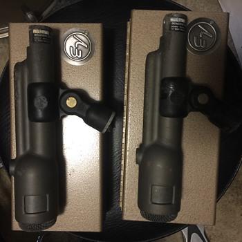 EV-666 & EV-664 microphones.
