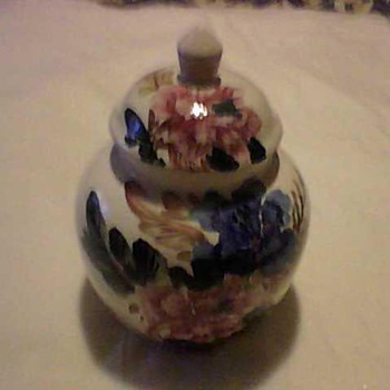 FLORAL ASIAN JAR