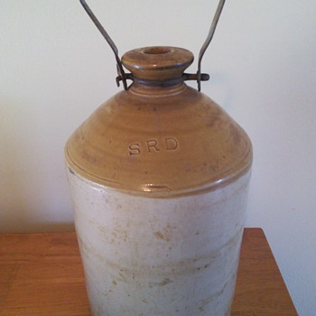 WW 1 British Rum Jug - Bottles