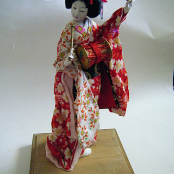 Beautiful doll I found in my parent's storage from my grandmother who lived in Japan.