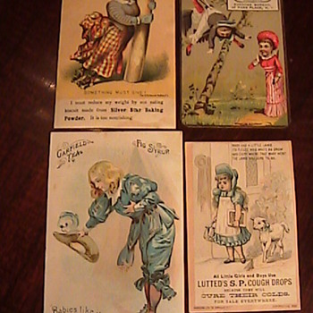 Victorian Advertising Trading Cards- Todays Estate Sale Find! - Cards