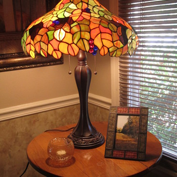 Autumn Leaves Lamp - Lamps