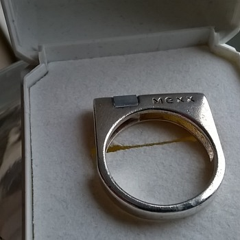 Mexx Sterling Ring Designed By Jens Johannes Aagaard For MEXX