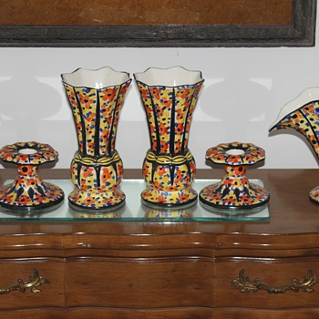 Urbach Polka Dot Collection - Art Pottery