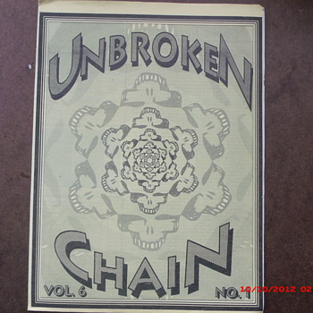 From my Grateful Dead Collection Unbroken Chain Vol.6 No.1 March-April 1991 - Music