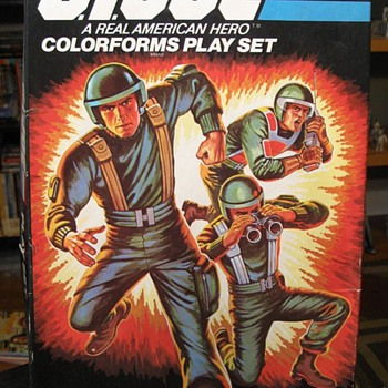 Vintage G.I. Joe Colorforms - Toys