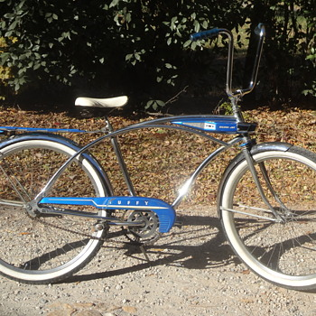 1960 Huffy Silver Jet Bicycle