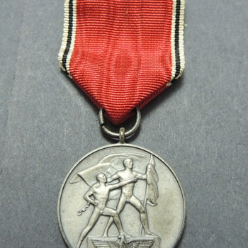 German WWII Austrian Anschluss Medal
