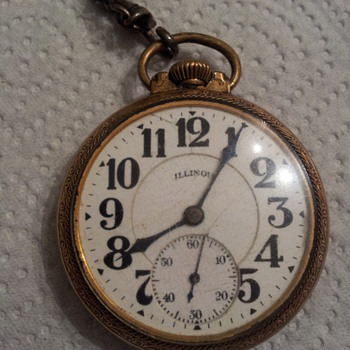 Bunn Special 21 Jewels Illinois Watch company springfield