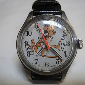 Pink Panther Wristwatch