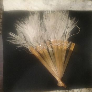 feather german fan  - Accessories
