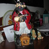 vintage pirate captain rum decanter