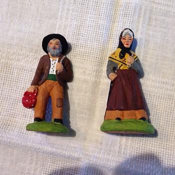 Italian Peasant Figurines - Carbone