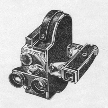1953 - Bolex Stereo Movie Camera Advertisements