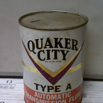 Quaker City Transmission Fluid - Petroliana