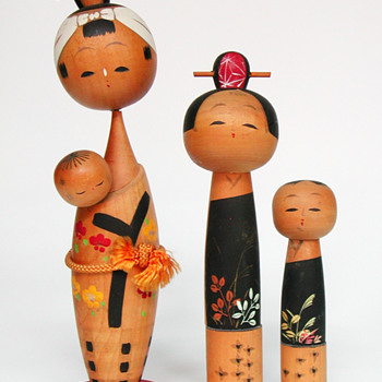 Kokeshi Dolls - Dolls