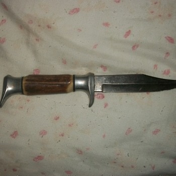 vintage edge brand model 54 bowie knife