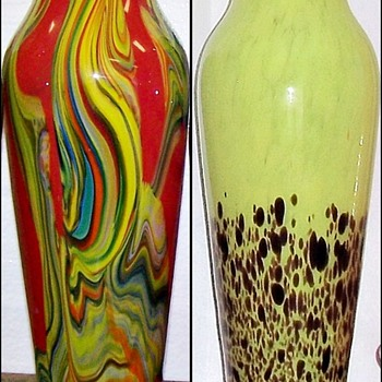A. Rückl Art Deco Glass - Surprising Twists & Turns With Shapes And Decors