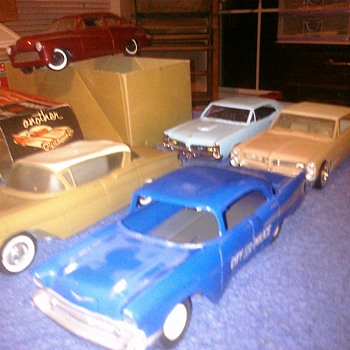 '57 Chevy 4 dr promo car - Model Cars