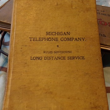 Michigan Telephone Company 1899