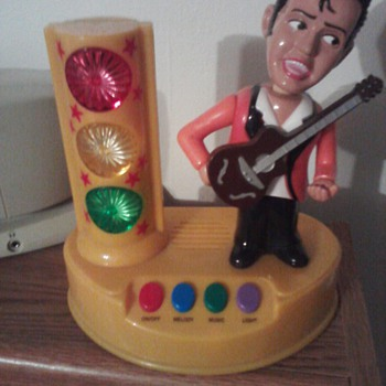 Vintage working Ritchie Valens light up musical bank