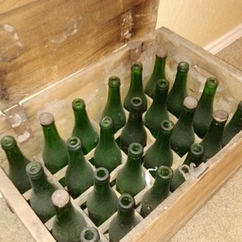 vintage Beer bottles