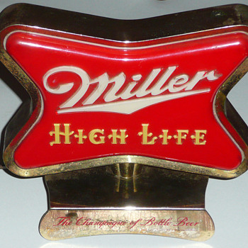 Miller High Life Register Light
