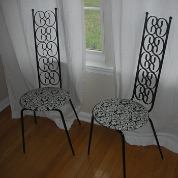 Can anyone tell me something about these chairs?