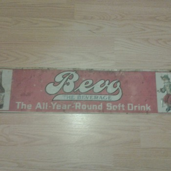 Bevo The Beverage Soft Drink Items (Prohibition)